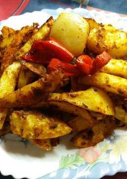 Patatas crujientes al pimentón