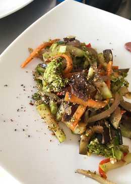 Salteado de verduras! 🥦