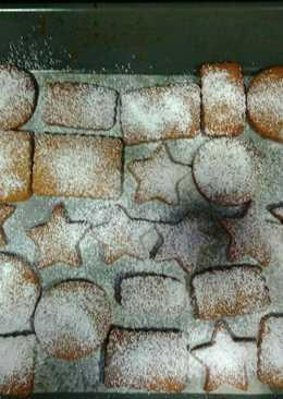Galletas de jengibre, canela y miel