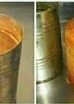 Mini bizcochuelo (Realizado en la lata de Durazno...😊)
