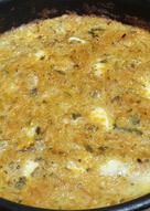 Tortilla de verduras al horno