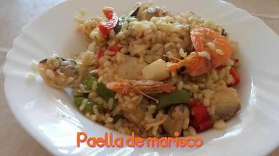 Paella de marisco*