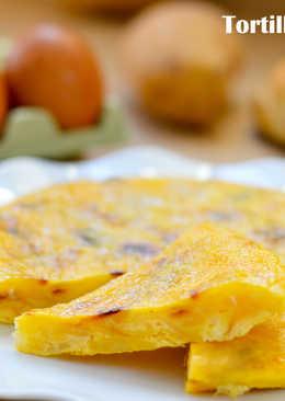 """Tortilla de patatas """"Ligera"""""""