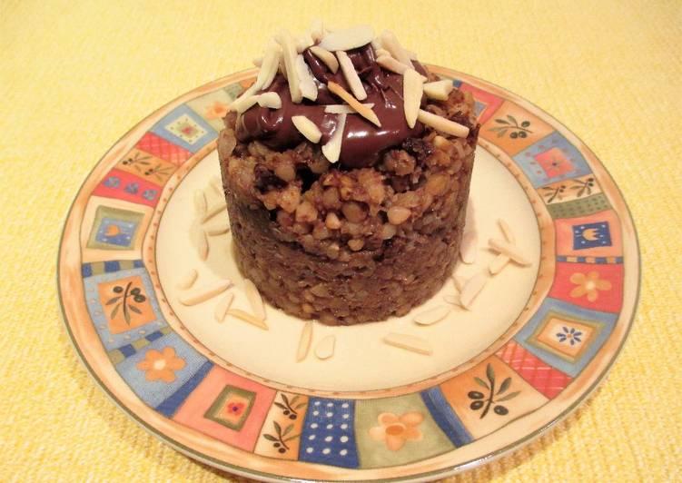 Cocinar Trigo Sarraceno | Trigo Sarraceno Con Leche De Avena Ciruelas Pasas Y Coco Receta De