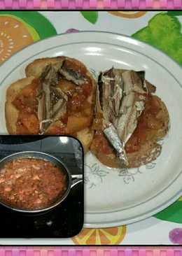 Salsa de cebolla, tomate y boniato