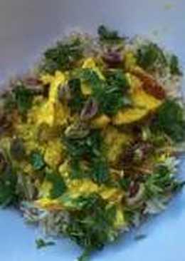 Pollo al estilo persa
