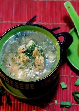 Sopa Oriental de Pescado y Tofu