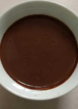 Natillas de chocolate y avena en panificadora