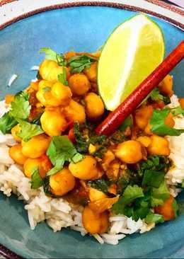 Curry de garbanzos 🍋🍋🍋