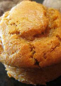 Muffins de calabaza 0%