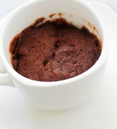 Mug Cake de chocolate fitness