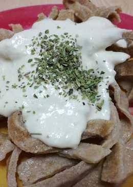 Pasta fresca integral con huevo (BLW)