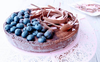 Tarta de chocolate