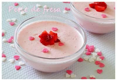 Petit de fresa (Thermomix)