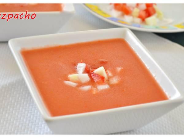 Gazpacho andaluz (Thermomix)
