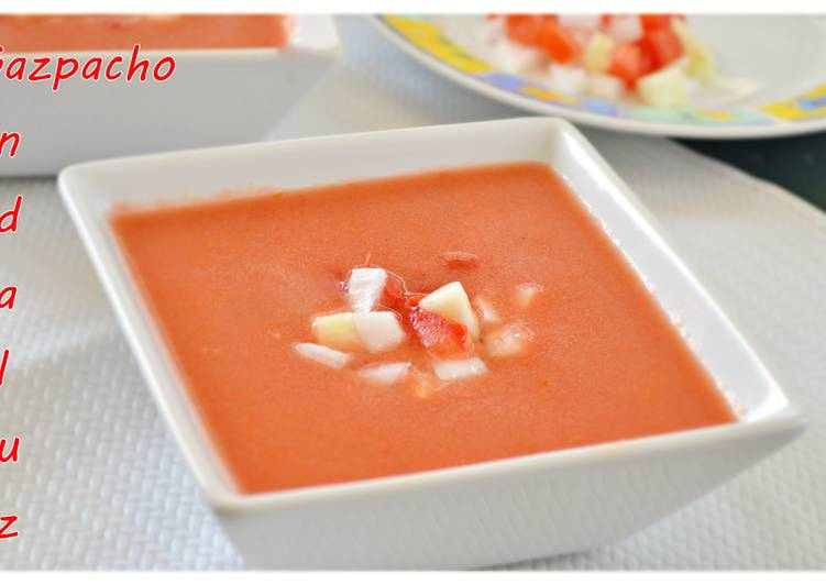 Gazpacho andaluz (Thermomix)