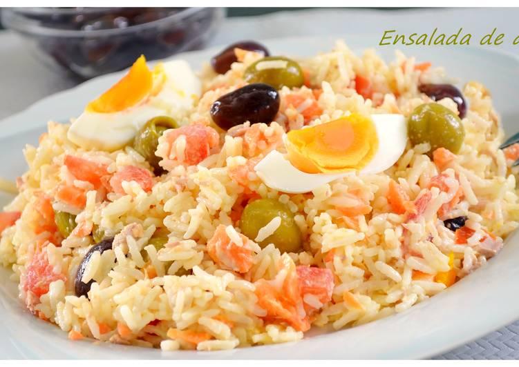 Ensalada de arroz con mayonesa thermomix receta de pilar - Ensalada de arroz light ...