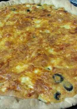 Tarta de panceta, aceitunas negras y mucho más!!!!!!!
