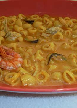 Sopa de pescado con chili Mexicano