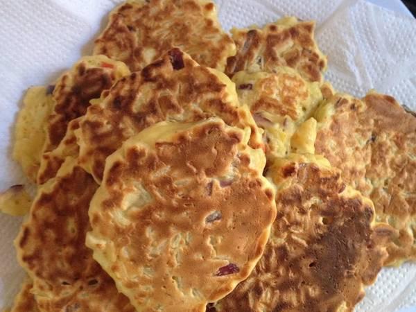 Croquetas de arroz con pollo