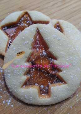 Galletas de jengibre navideñas con cristalitos