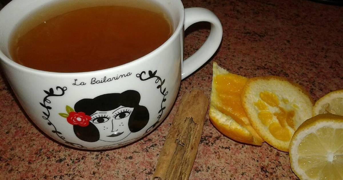 Té de naranja, canela y limón Receta de La Tía Cotita