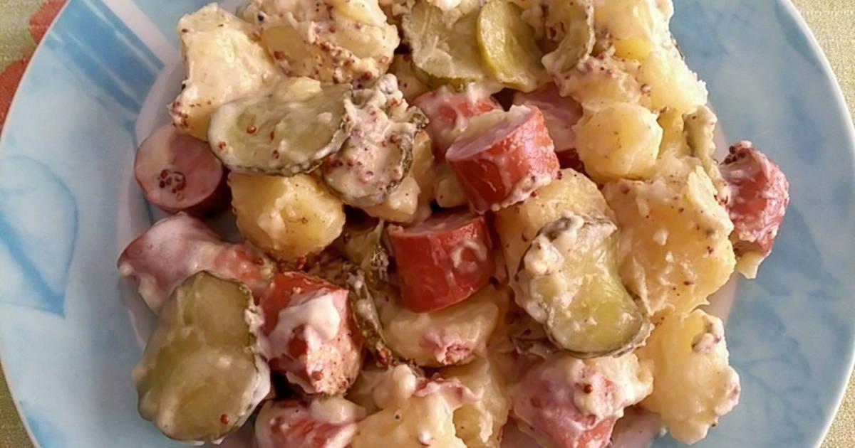 Ensalada alemana de patata receta de - Ensalada alemana de patatas ...