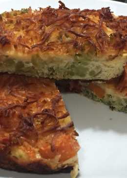 Evolución de mi primera tortilla Francesa ¡que momento!