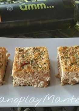 Pastel de merluza y atún, sin lactosa, en GME, F y G y tradicional