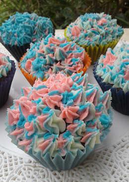 Princesitas de chocolate o Cupcake rellenos