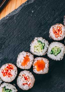 Sushi fácil | Makisushi Hosomaki salmón
