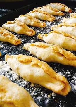 Empanadas de cordero y mandioca