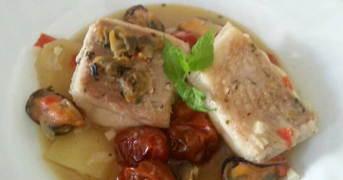 Caldereta de pescado y marisco 34 recetas caseras cookpad - Caldereta de langostinos ...
