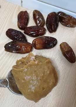 Pasta de dátiles como endulzante natural o para recetas de bebés (BLW)