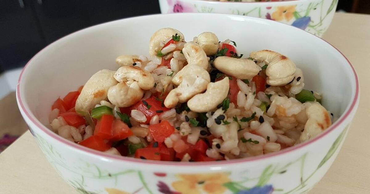 Ensalada de arroz integral 25 recetas caseras cookpad - Ensalada de arroz light ...