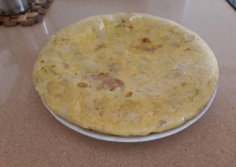 Tortilla española (con cebolla)