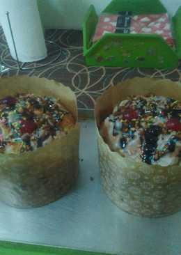 Pan dulce con frutas