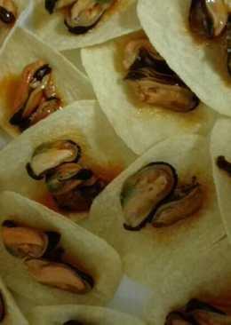 Tapa rápida de mejillones y patatas