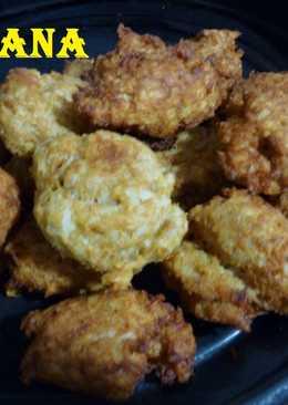 Croquetas de arroz con atún
