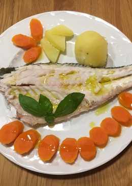 Lubina a la sal - receta de pescado al horno