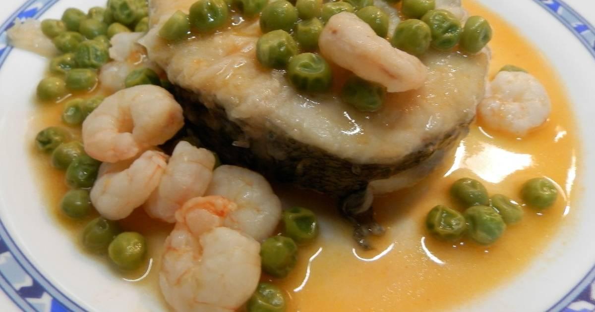 Cocinar Merluza Congelada | Merluza En Salsa Con Guisantes 61 Recetas Caseras Cookpad