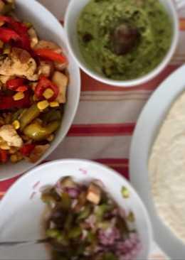 Fajitas rápidas de aprovechamiento: idea de cena