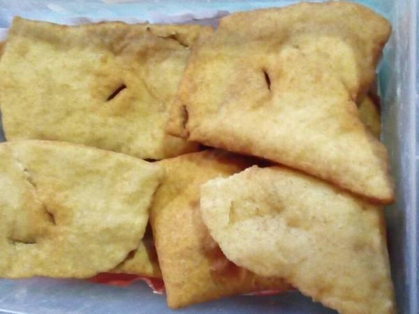 Tortas fritas súper esponjosas