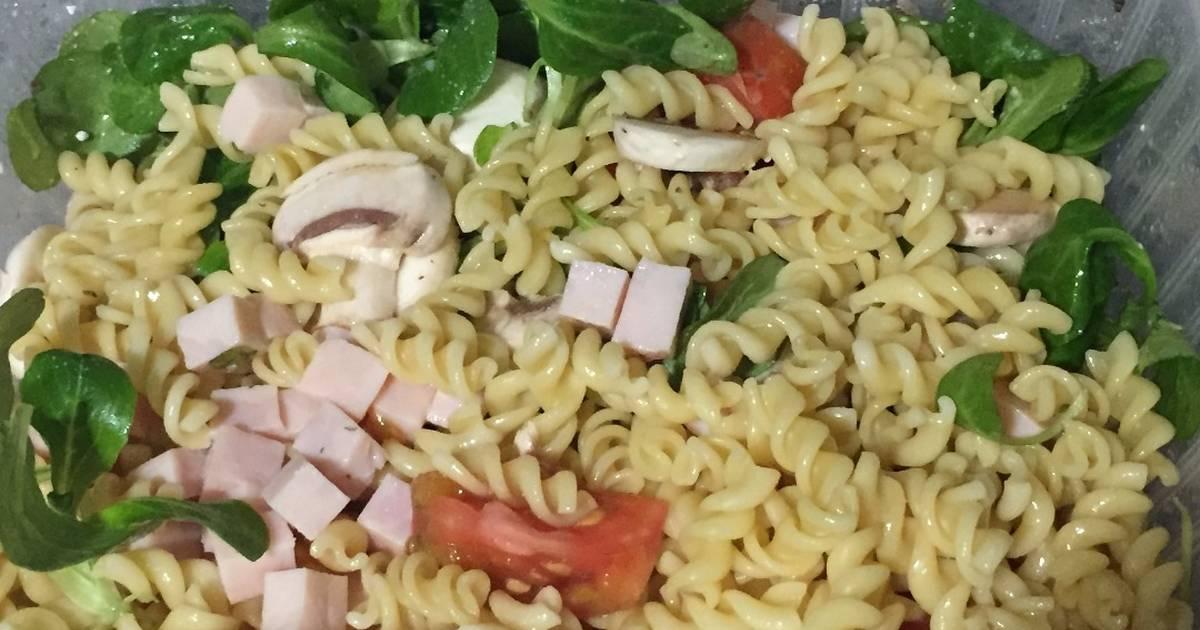 Ensalada de pasta con can nigos receta de david m cookpad - Ensaladas con canonigos ...