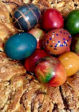Trenza de chocolate y mermelada 💕🐣 - receta de Pascua