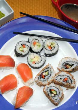 Sushi Casero (sin pescado crudo)
