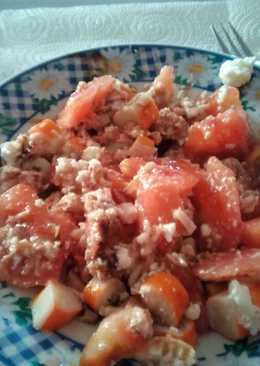 Ensalada rápida y ligera de tomate