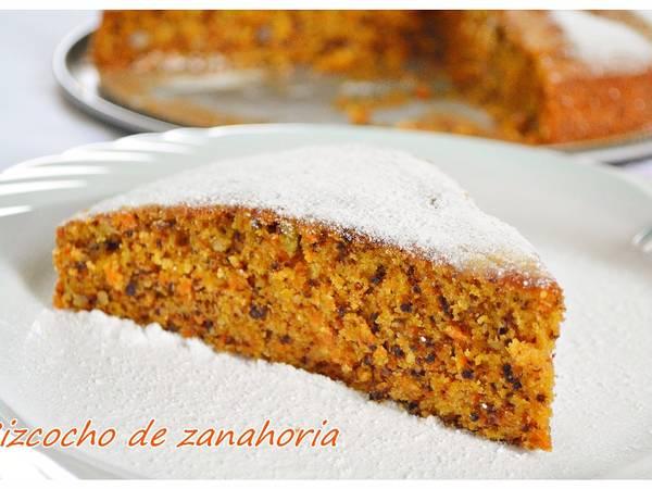 Bizcocho de zanahoria (Thermomix)