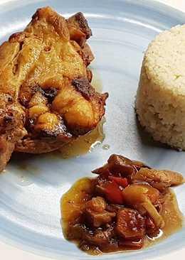 Pollo con Vegetales al Curry en olla de cocción lenta Crockpot