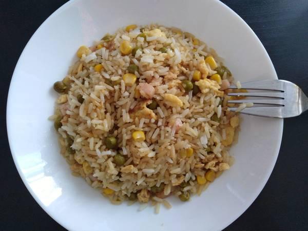 Arroz chino tres delicias ¡perfecto!